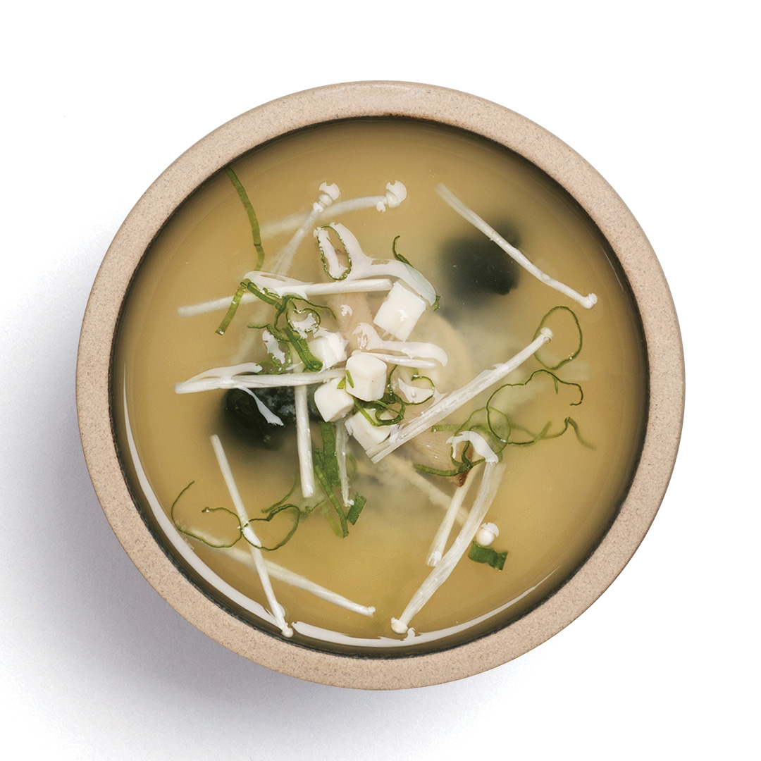 Bloom Miso soup